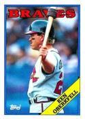 1988 Topps #67 Ken Oberkfell Braves