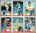 1983 Topps Texas Rangers Team Set (25) Cards