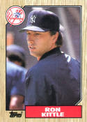 1987 Topps #584 Ron Kittle Yankees
