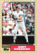 1987 Topps #683 Gary Roenicke Yankees