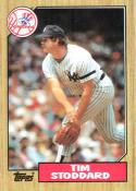 1987 Topps #788 Tim Stoddard Yankees