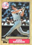 1987 Topps #626 Joel Skinner Yankees