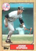 1987 Topps #239 Juan Espino Yankees