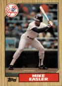 1987 Topps #135 Mike Easler Yankees
