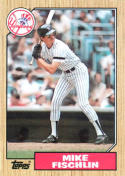 1987 Topps #434 Mike Fischlin Yankees