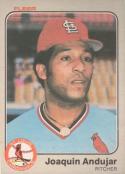 Baseball MLB 1983 Fleer #1 Joaquin Andujar NM Near Mint Cardinals
