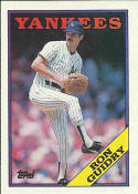 1988 Topps #535 Ron Guidry Yankees