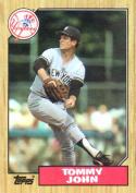 1987 Topps #236 Tommy John Yankees