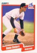 Robin Ventura 1990 Fleer Rookie Baseball Card #550