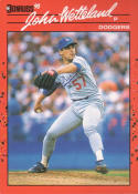 1990 Donruss #671 John Wetteland Rookie Card