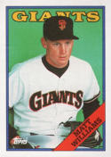 1988 Topps #372 Matt Williams RC Rookie Giants