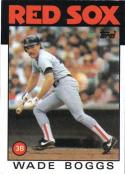 1986 Topps #510 Wade Boggs Baseball Card
