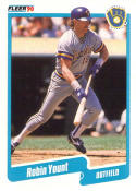 1990 Fleer #340 Robin Yount Brewers