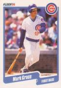 1990 Fleer #32 Mark Grace Cubs