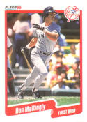 1990 Fleer #447 Don Mattingly Yankees