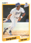 1990 Fleer #103 George Brett Royals