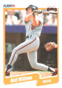 1990 Fleer #75 Matt Williams Giants