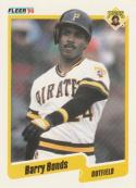 1990 Fleer #461 Barry Bonds Pirates
