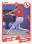 1990 Fleer #260 Ozzie Smith Cardinals