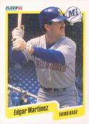 1990 Fleer #520 Edgar Martinez Mariners