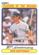 1990 Fleer #626 Don Mattingly