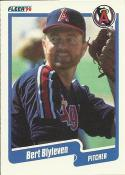 1990 Fleer #128 Bert Blyleven Angels