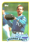 George Brett Kansas City Royals (Baseball Card) 1989 Topps #200