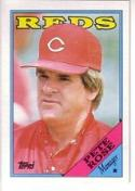 1988 Topps #475 Pete Rose Reds MG