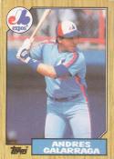 1987 Topps #272 Andres Galarraga Expos