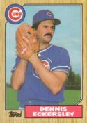 1987 Topps #459 Dennis Eckersley Cubs