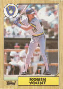 1987 Topps #773 Robin Yount Brewers