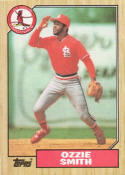 1987 Topps #749 Ozzie Smith Cardinals
