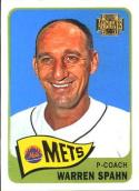 2001 Topps Archives #134 Warren Spahn NM-MT Close TO 50/50!