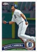 Baseball MLB 2011 Chrome #30 Miguel Cabrera NM-MT Tigers