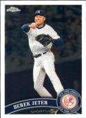 Baseball MLB 2011 Chrome #20 Derek Jeter NM-MT Yankees