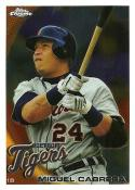 Baseball MLB 2010 Chrome #156 Miguel Cabrera NM-MT Tigers
