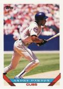 Andre Dawson Chicago Cubs (Baseball Card) 1993 Topps #265