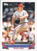 Curt Schilling Baseball Card 1993 Topps #421