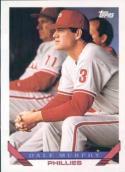 1993 Topps #445 Dale Murphy Baseball Card