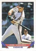 1993 Topps #603 Jim Thome Baseball Card
