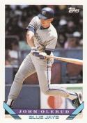 1993 Topps #240 John Olerud Toronto Blue Jays Baseball Card