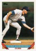 1993 Topps Ryne Sandberg Chicago Cubs Baseball Card #3