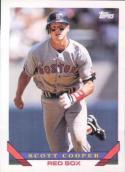 Scott Cooper Boston Red Sox (Baseball Card) 1993 Topps #655