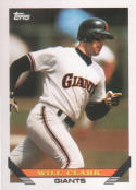 Will Clark San Francisco Giants (Baseball Card) 1993 Topps #10