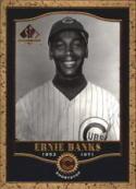 Ernie Banks Chicago Cubs (Baseball Card) 2001 SP Legendary Cuts #25