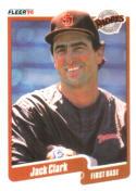 1990 Fleer #152 Jack Clark Padres