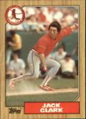 1987 Topps #520 Jack Clark Cardinals