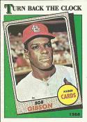 1988 Topps #664 Bob Gibson TBC Cardinals