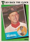 1988 Topps #665 Stan Musial TBC Cardinals