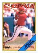 1988 Topps #100 Jack Clark Cardinals